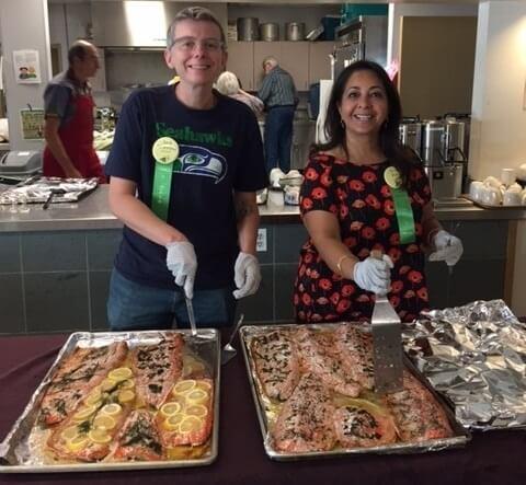 Annual Salmon Bake: September 16
