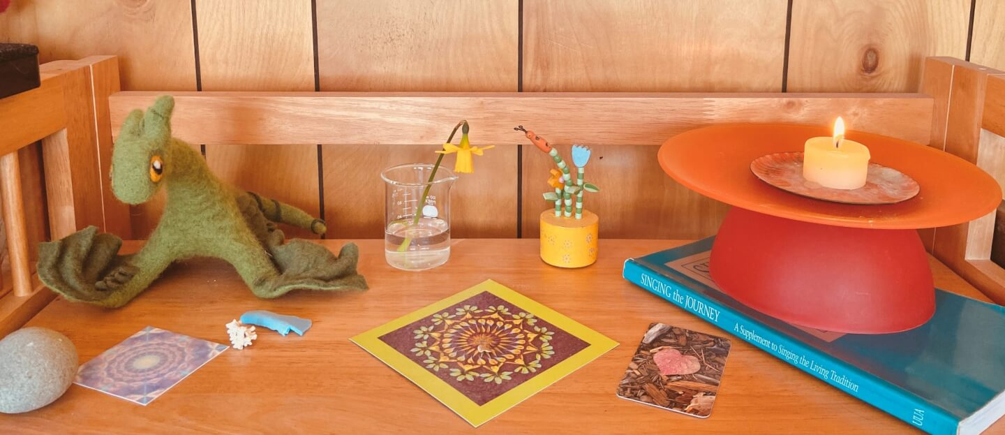 Creating Sacred Space at Home