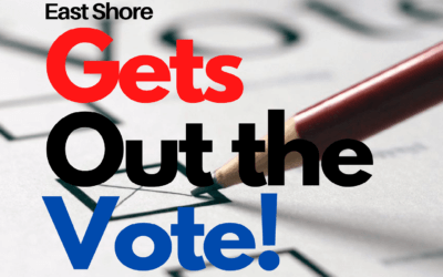 East Shore Gets Out the Vote – Update October 2020