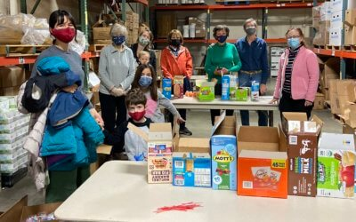 Update on East Shore's Covid Food Relief Project: January 2021