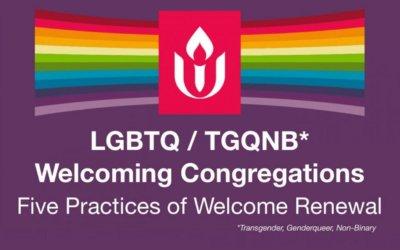 Welcoming Congregations Team Members Needed