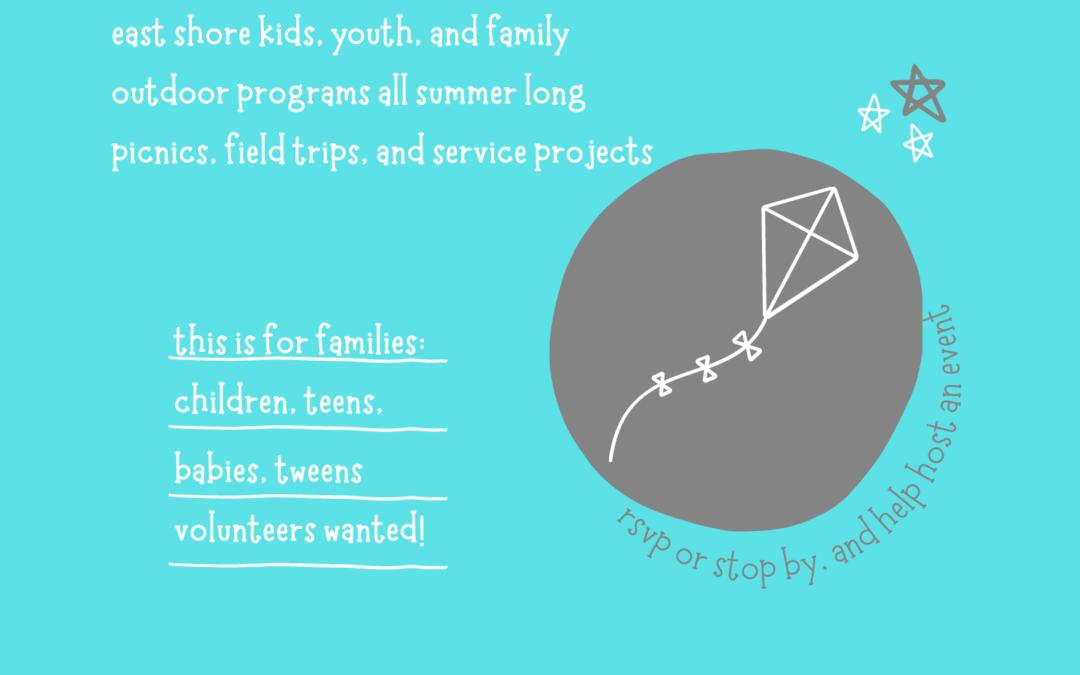 Calling All Kids: Summer 2021 Program